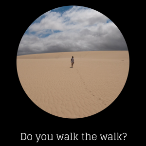 """Walk in the Desert"" by Cristiano & Sara"