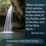 Solemnity of the Holy Trinity (Cycle B)